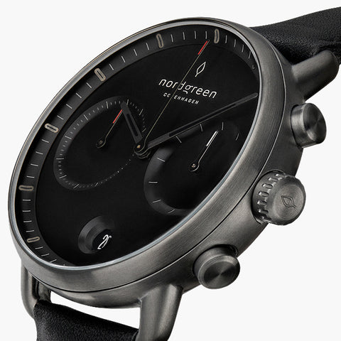 Nordgreen watch, image of Pioneer Chronograph Watch-5