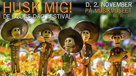 What's On In Copenhagen: November 2019, image of Day of the Dead Festival: Husk Mig.