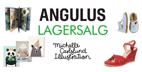 What's On In Copenhagen: November 2019, image of Angulus Shoes & Michelle Carlslund Illustrations.