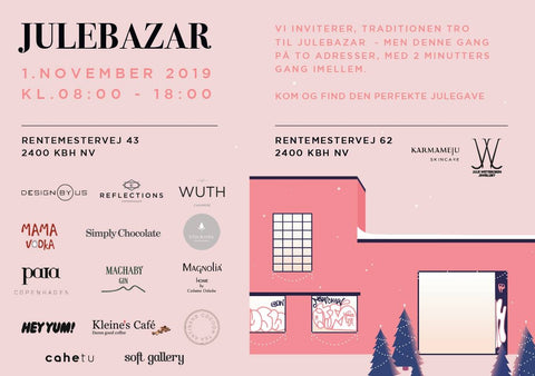 What's On In Copenhagen: November 2019, image of Annual Bazar @ Karmameju Skincare.
