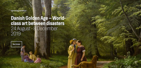 What's On In Copenhagen: October 2019, Image of Danish Golden Age.