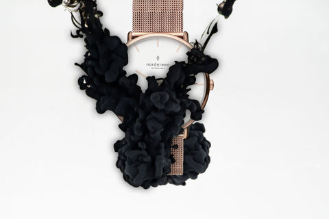 the Best Black Friday  Watch Deals In 2019, image of Drop_3-2_Native_RG_White_Mesh Watch.