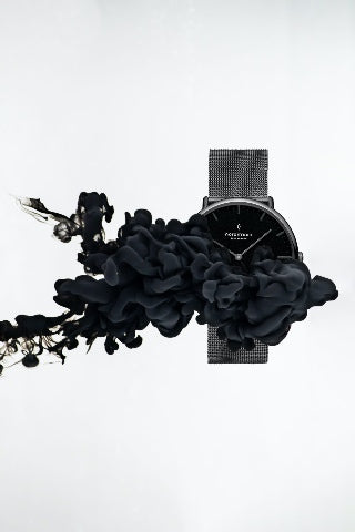 The Best Black Friday Watch Deals In 2019, image of Drop_3_Native_GM_Black_Mesh Watch.