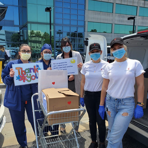 Fuel Them LA: Feeding Our Frontline Healthcare & Rescue Workers, image of fuel them la team.