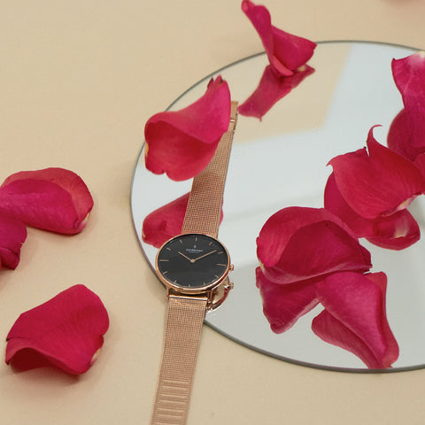 Tips on Things to do During the Valentine's Day Love Craze, image of Nordgreen Native watch.