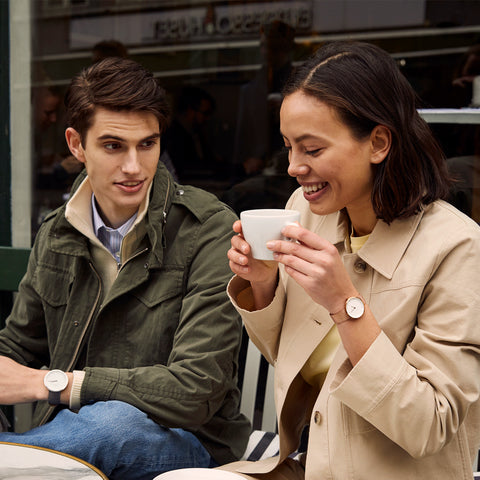 Tips on Things to do During the Valentine's Day Love Craze, image of couple wearing Nordgreen watches-2.