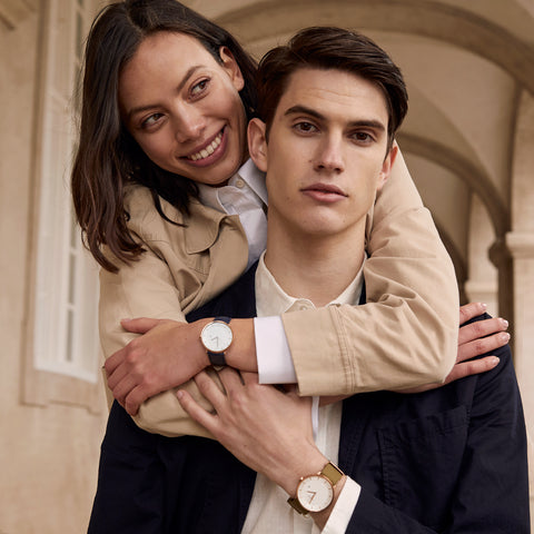 Tips on Things to do During the Valentine's Day Love Craze, image of couples wearing Nordgreen watches.