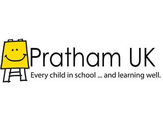 The Sum of Charitable Deeds, image of Pratham UK logo.