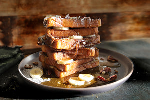 Daily Kneads Carrot and Pumpkin French Toast Quick Breakfast Recipe