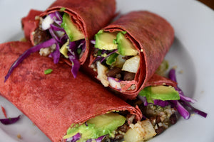 Quick Quinoa Vegan Wraps