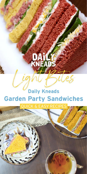 Daily Kneads Garden Party Sandwiches Recipes and Inspiration Ideas