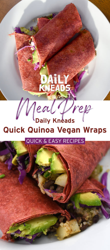 Delicious and Easy Recipes with Daily Kneads Sweet Beet Tortillas