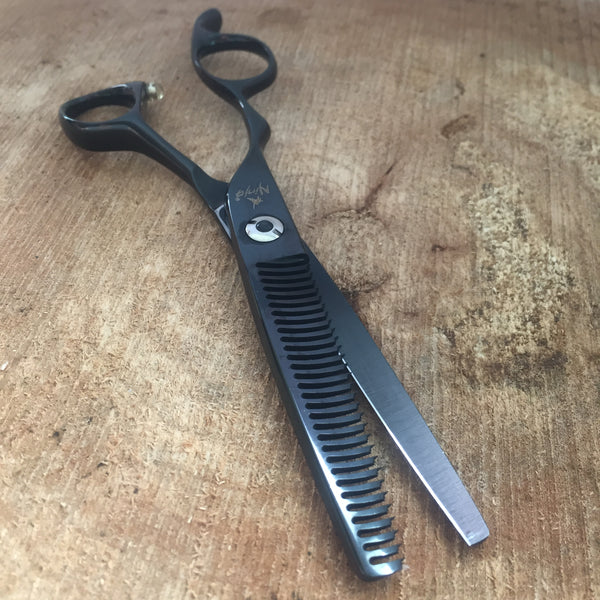 NINJA GHOST LEFTY PROFESSIONAL HAIR TEXTURIZING SHEARS