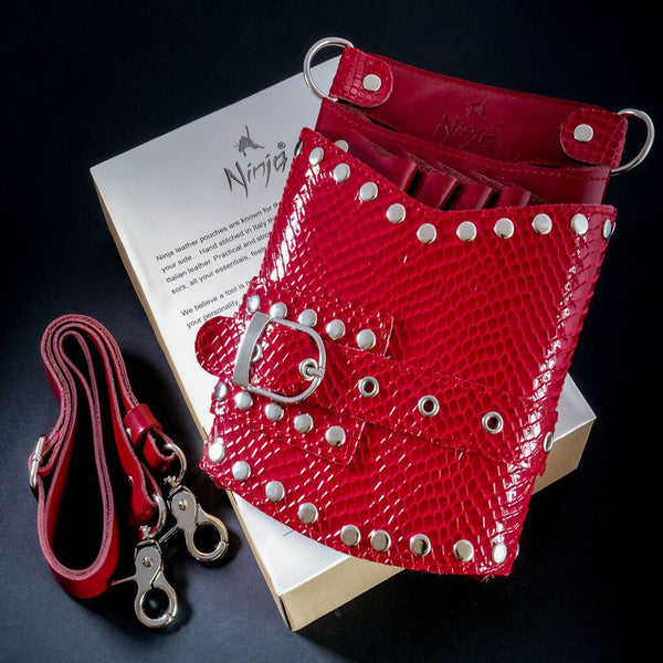 NINJA WRAITH LEATHER HOLSTER RED