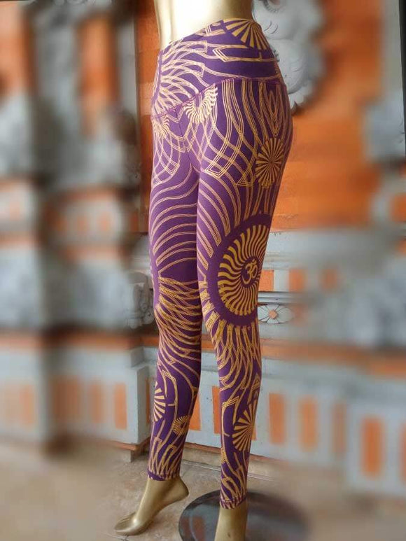 Yogini Leggings full print (Ohm Sun)
