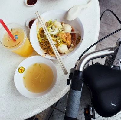 Best places to have lunch with the CarryMe compact foldable bike!