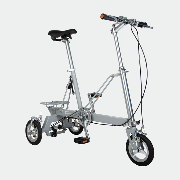 CarryAll Folding Tricycle in Slate Grey