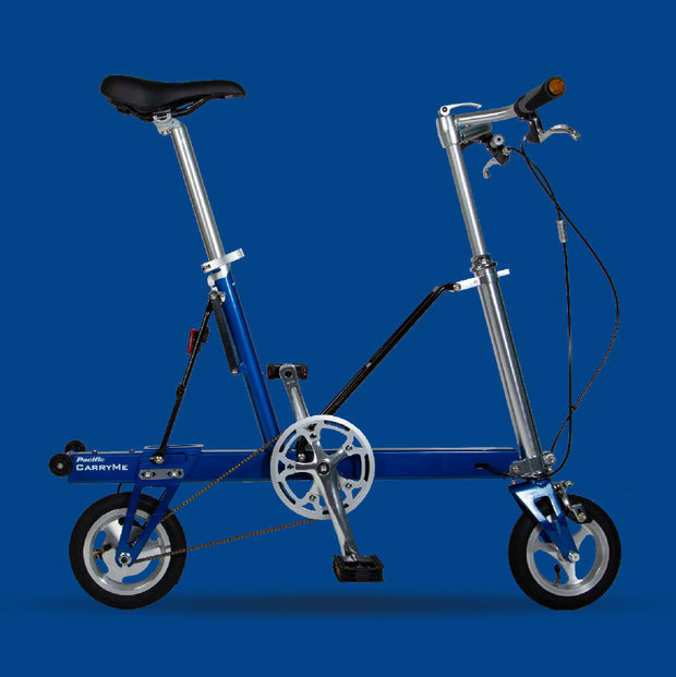Pacific CarryMe Folding Bicycle in Electric Blue