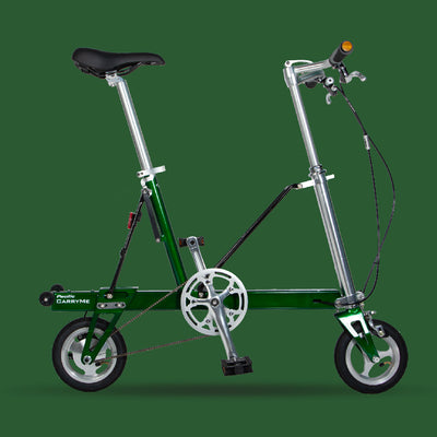 Pacific CarryMe Folding Bicycle in Forest Green