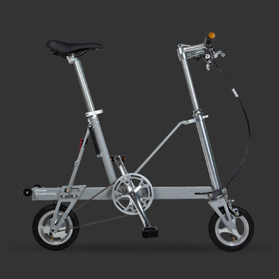 Pacific CarryMe Folding Bicycle in Slate Grey