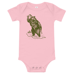 Lummi Island Swimming Bear Onesie
