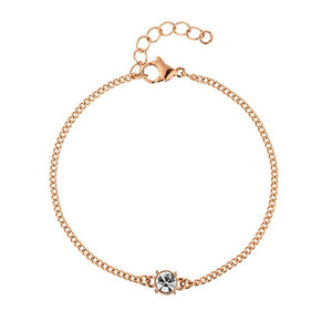 "DIAMOND BRACELET ""ROSE GOLD"""