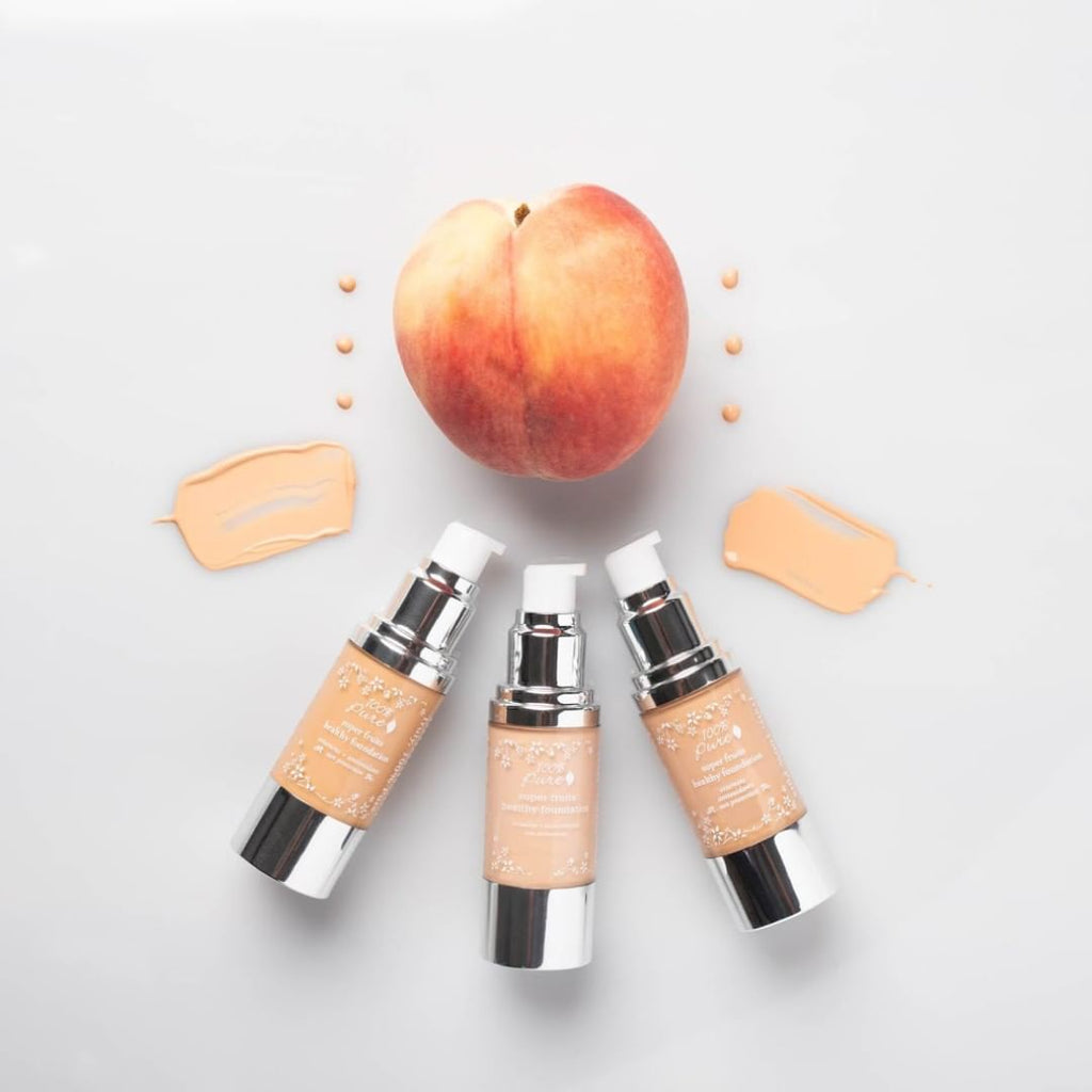 Kem nền cho mẹ bầu 100% Pure Fruit Pigmented Healthy Foundation (30ml)