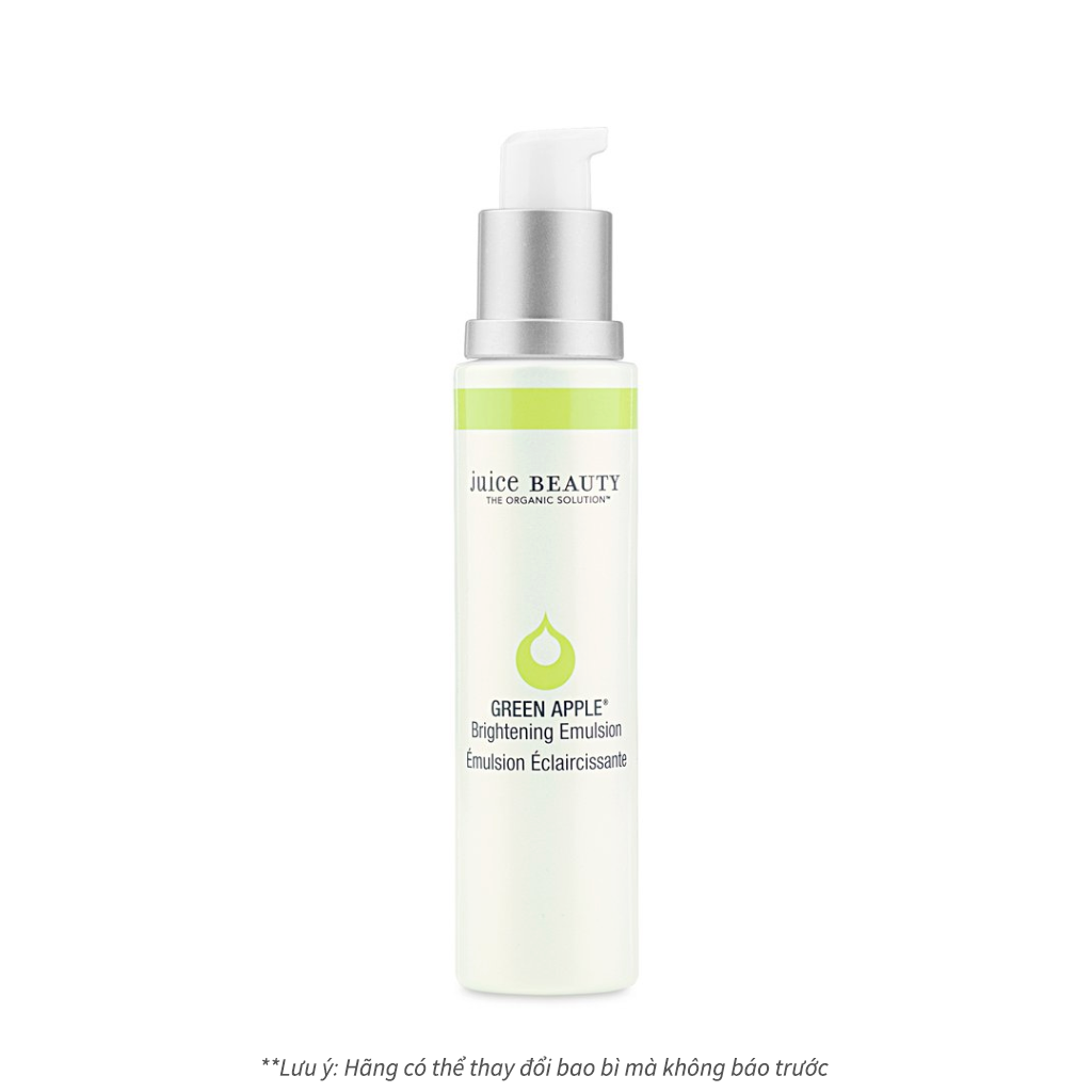 Sữa dưỡng sáng da Juice Beauty Green Apple Brightening Emulsion