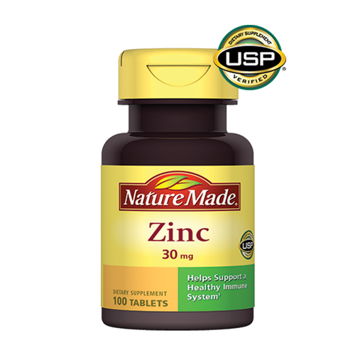 my-pham-ba-bau-Vitamin Nature Made Zinc 100 Tablets