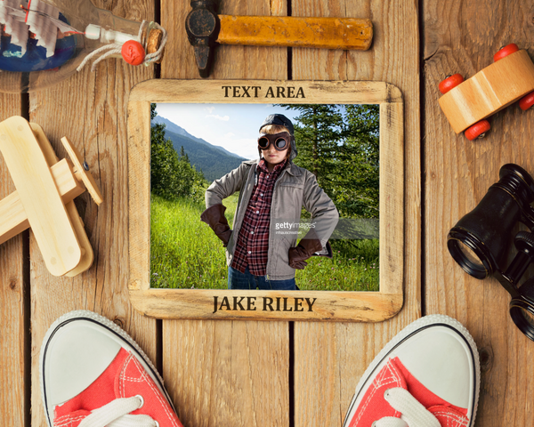 Adventure 1 Photo Template