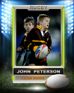 Rugby 1 Photo Template