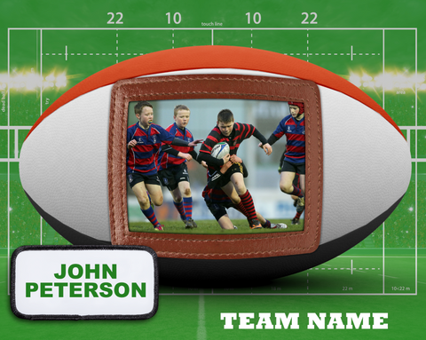 Rugby 2 Photo Template