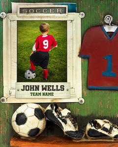 Soccer 1 Photo Template
