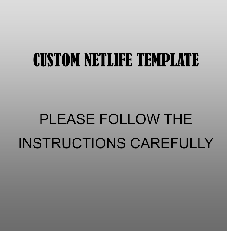 Custom Netlife Template