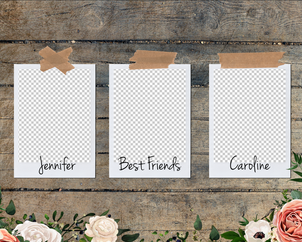 Best Friends 1 Photo Template