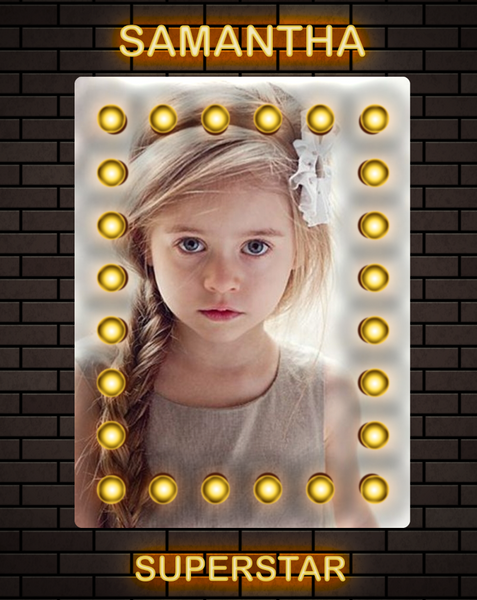 Superstar 1 Photo Template