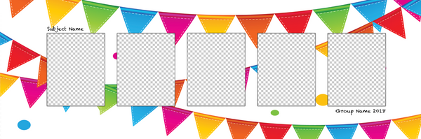 Flags 1 Photo Template
