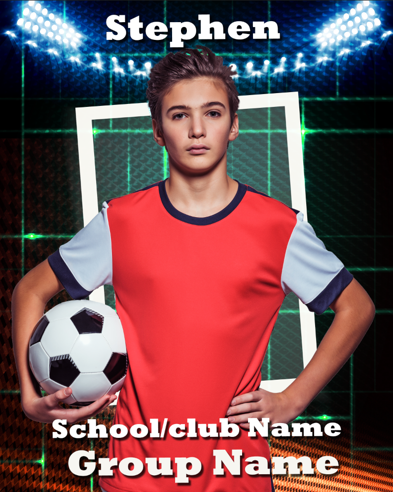 Sports G Photo Template