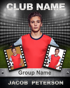 Sports A Photo Template