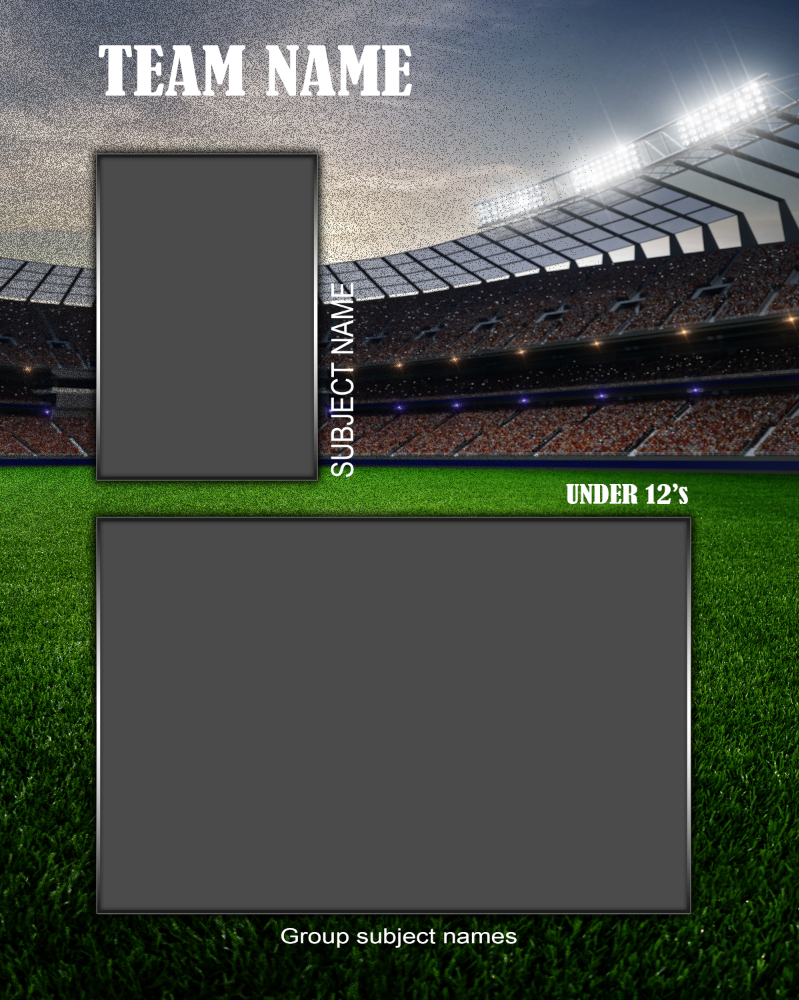 Sport Memory Mate Photo Template v2