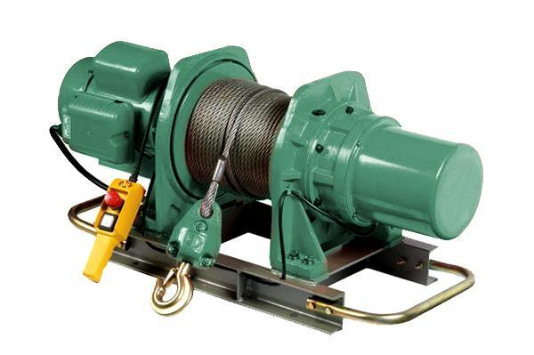 Usage of Electric Winches - All Lifting