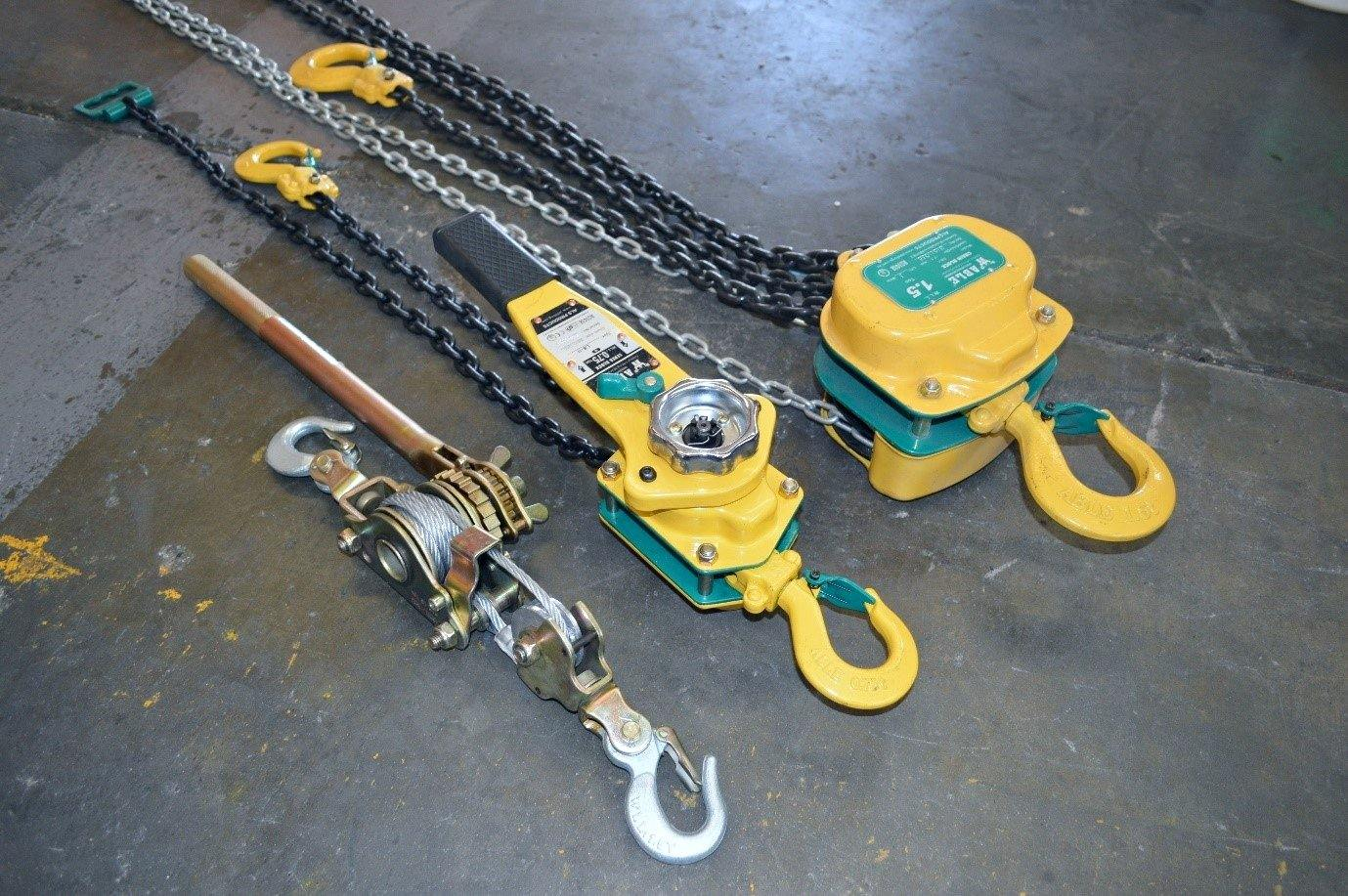 Lever Hoist, Chain Block and Come Along - All Lifting