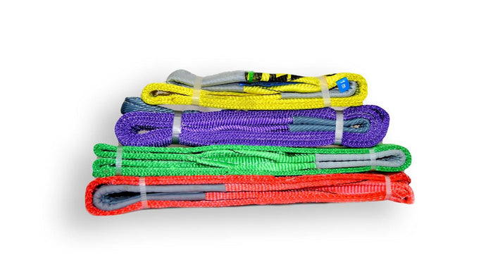 Different Types of Webbing Slings - All Lifting