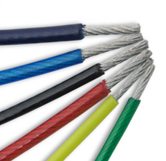 Stainless Steel PVC Wire Rope - All Lifting