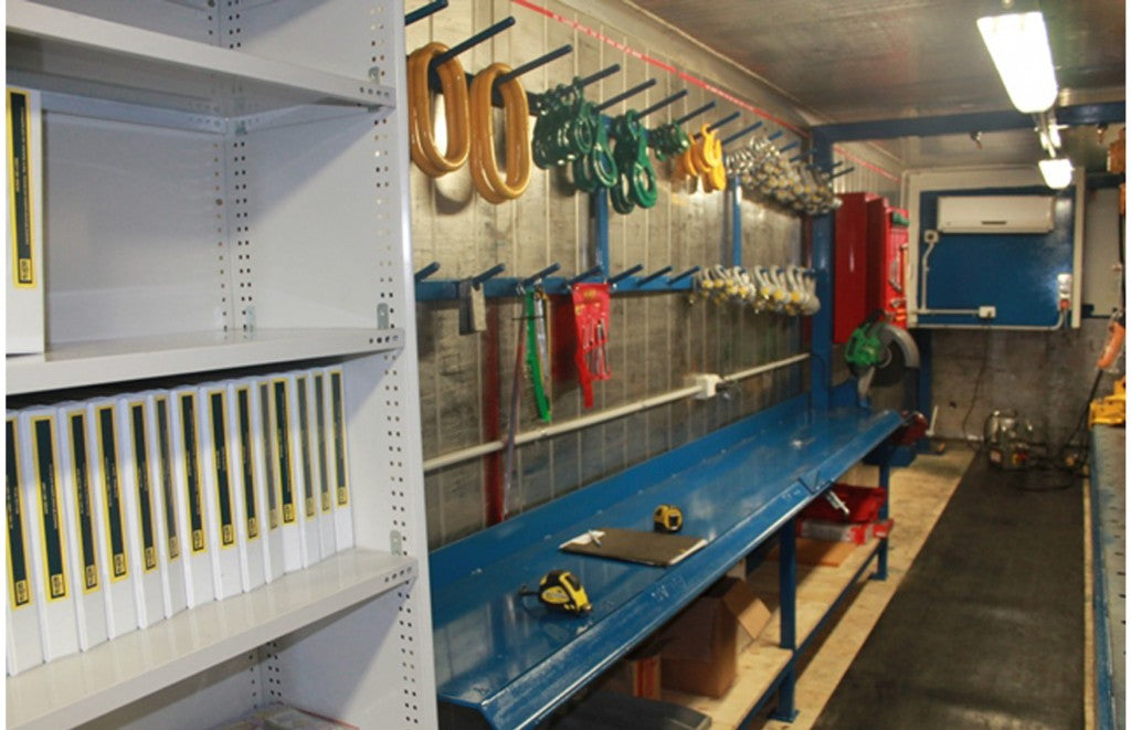 Shipping Container Workshop - All Lifting