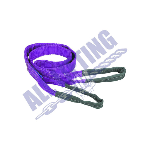 Flat web lifting sling