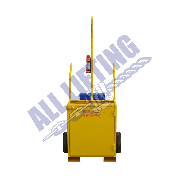2 Cylinder Gas Bottle Trolley, All Lifting, All About Lifting