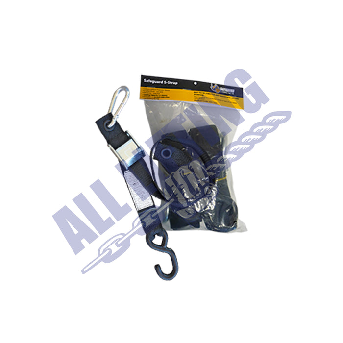 Safeguard/Gladiator Net Replacment Strap with S-Hooks