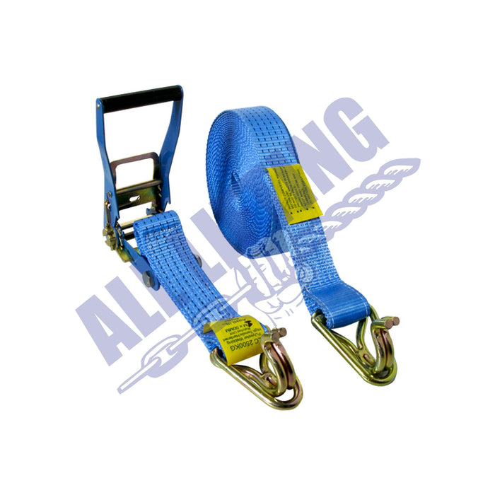 75mm Webbing Ratchet Tie Down - All Lifting