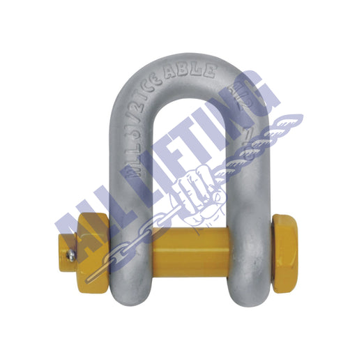 Rated Shackle Grade S Dee Safety Pin
